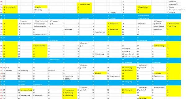Kalender 2018-2019
