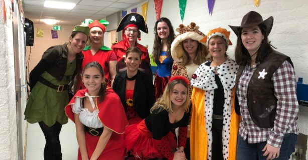 Carnaval op IKC Het Drieluik!