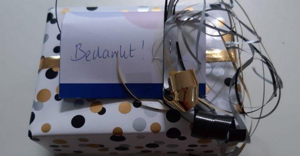 Een cadeautje van wethouder Helga Witjes